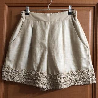 クチュールブローチ(Couture Brooch)の美品 クチュールブローチ パンツ(ショートパンツ)
