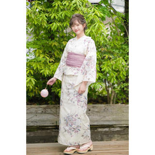 シマムラ(しまむら)の 小花柄浴衣3点セット プチプラのあや(浴衣)