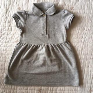 ムジルシリョウヒン(MUJI (無印良品))の無印良品 ポロシャツワンピース サイズ80(ワンピース)