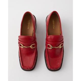 マウジー(moussy)のmoussy BLOCK HEAL LOAFER(ローファー/革靴)