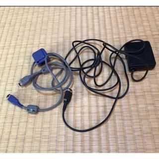ゲームボーイアドバンス(ゲームボーイアドバンス)の通信ケーブル アダプター ゲームボーイアドバンス(携帯用ゲームソフト)