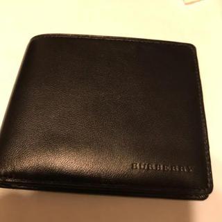 バーバリー(BURBERRY)のBURBERRY 二つ折り財布(折り財布)