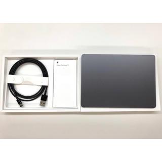 アップル(Apple)のMagic Trackpad 2 スペースグレー 中古美品 付属品完備(デスクトップ型PC)