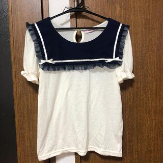 アンクルージュ(Ank Rouge)のトップス セーラー アンクルージュ アングル(Tシャツ(半袖/袖なし))