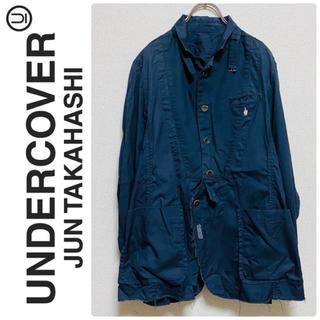 アンダーカバー(UNDERCOVER)の激レア 一点物 undercover OX ダブルカフス シャツ ジャケット(テーラードジャケット)