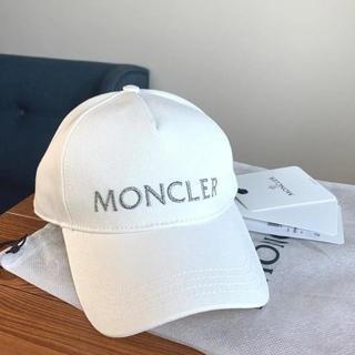 モンクレール(MONCLER)の【美品】 モンクレール ベースボールキャップ(キャップ)