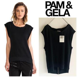 DEUXIEME CLASSE - 新品未使用 PAM&GELA スウェットシャツ ショートスリーブ S