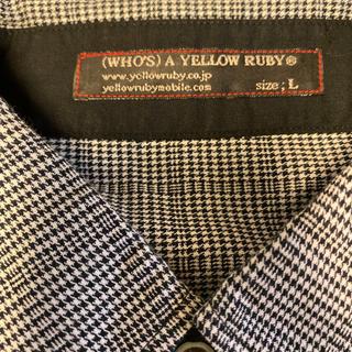 イエロールビー(YELLOW RUBY)のイエロールビーチェックシャツ(シャツ)