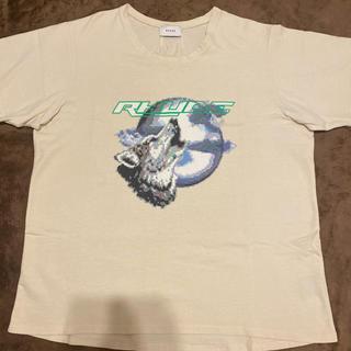 値下げrhude wolf tee(Tシャツ/カットソー(半袖/袖なし))