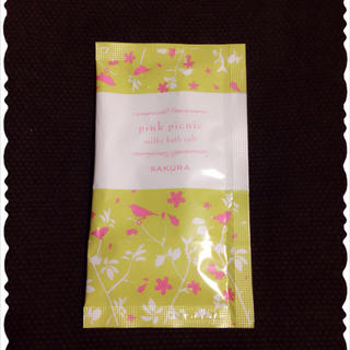 pink picnic 入浴剤