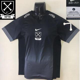 ナイキ(NIKE)のナイキ ゲーム ウェア tシャツ  DRI-FIT ブラック グラデーション L(衣装)