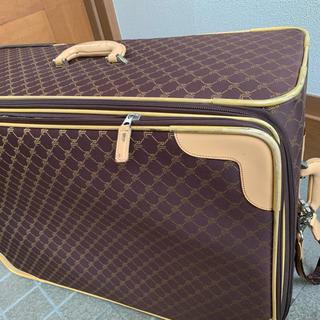 ポロラルフローレン(POLO RALPH LAUREN)のラルフローレン モノグラム ロゴ 革 スーツケース 旅行バッグ(スーツケース/キャリーバッグ)