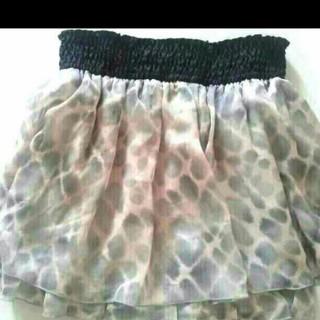 セシルマクビー(CECIL McBEE)のセシルマクビー キュロットスカート(ミニスカート)