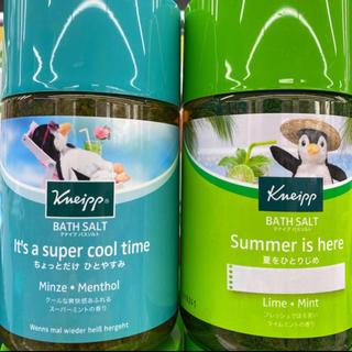 Kneipp - 2種‼️夏期限定・クナイプ・バスソルト ライム & ミント