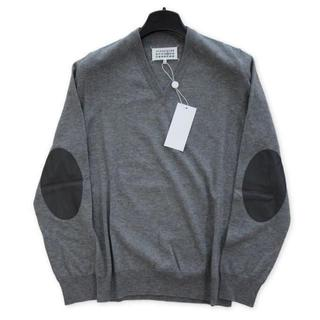 Maison Martin Margiela - 新品タグ付き マルジェラ 定番 エルボーパッチ ニット セーター Lサイズ