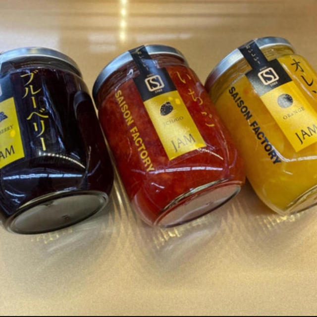 quatre saisons(キャトルセゾン)の3種‼️ SAISON FACTORY  JAM セゾンファクトリー ジャム  食品/飲料/酒の加工食品(缶詰/瓶詰)の商品写真