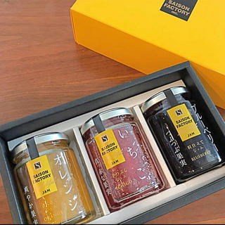 キャトルセゾン(quatre saisons)の3種‼️ SAISON FACTORY  JAM セゾンファクトリー ジャム (缶詰/瓶詰)