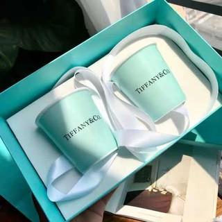 Tiffany & Co. - ティファニー ペアカップ ブルーリボン