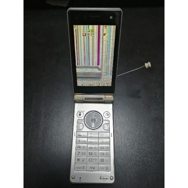 SHARP(シャープ)のドコモdocomo SH903iTV スマホ/家電/カメラのスマートフォン/携帯電話(携帯電話本体)の商品写真