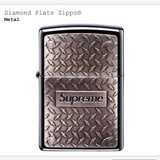 シュプリーム(Supreme)のシュプリーム Diamond Plate Zippo ジッポー(タバコグッズ)
