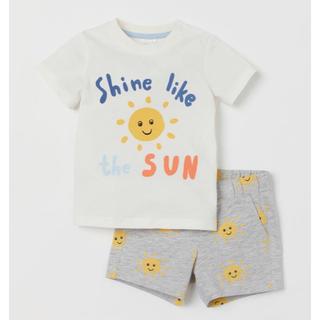 エイチアンドエム(H&M)の即売品  H&M Tシャツ & パンツ セット❤️ベビーギャップ/next(Tシャツ/カットソー)