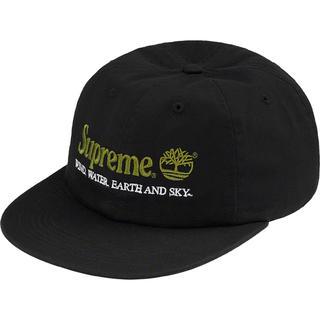 シュプリーム(Supreme)の黒 Supreme Timberland 6-Panel cap キャップ (キャップ)