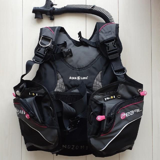 Aqua Lung(アクアラング)のダイビング BCD 【ウエイトポケットなし】 スポーツ/アウトドアのスポーツ/アウトドア その他(マリン/スイミング)の商品写真