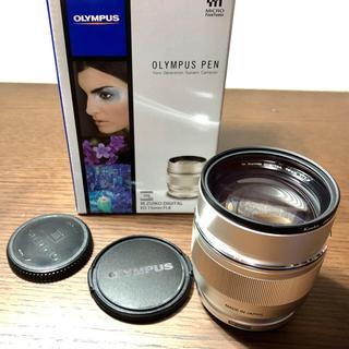 オリンパス(OLYMPUS)のオリンパスM.ZUIKO DIGITAL ED 75mm F1.8 美品(レンズ(単焦点))