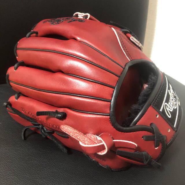 Rawlings(ローリングス)の未使用 硬式 ローリングス プロプリファード オーダーグローブ USAラベル スポーツ/アウトドアの野球(グローブ)の商品写真