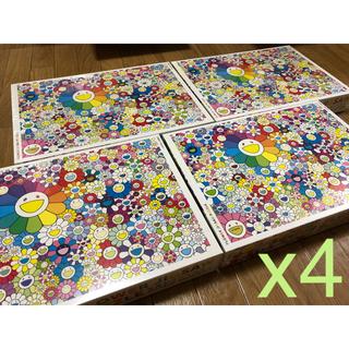 メディコムトイ(MEDICOM TOY)のFlower Jigsaw Puzzle パズル puzzle 村上隆 x4(その他)