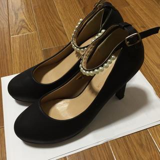 神戸レタス - ハイヒール 黒 ブラック サイズLL