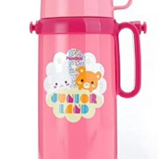 ALL GROWN UP BY BLONDY(オールグロウンアップバイブロンディ)のピーコック 子供 水筒 キッズ/ベビー/マタニティの授乳/お食事用品(水筒)の商品写真