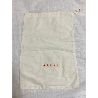 マルニ(Marni)の非売品 【MARNI マルニ】巾着 不織布 ポーチ シューズケース ショップ袋(ショップ袋)