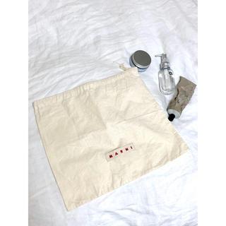マルニ(Marni)の非売品 【MARNI マルニ】ショップ袋 バッグケース 不織布 巾着 (ショップ袋)