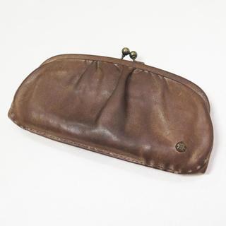 ミナペルホネン(mina perhonen)のebagos エバゴス がま口 長財布 ウォレット ガマ口(財布)