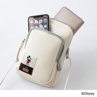 ミッキーマウス(ミッキーマウス)の【InRed 20年4月号付録】ミッキーマウス ミニショルダーバッグ(未開封C(ファッション)