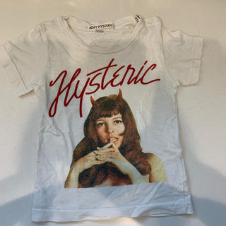 ヒステリックグラマー(HYSTERIC GLAMOUR)のジョーイヒステリック 半袖 Tシャツ 80〜90 xs(Tシャツ)