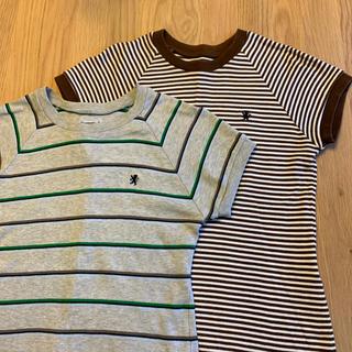 ジムフレックス(GYMPHLEX)のGymphlex カットソー 柄2種【中古】サイズ12(Tシャツ(半袖/袖なし))