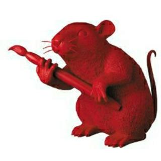 メディコムトイ(MEDICOM TOY)のMEDICOM TOY LOVE RAT RED Ver.(その他)