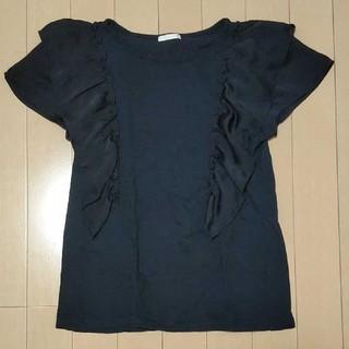 ジーユー(GU)のGU フリルTシャツ 150(Tシャツ/カットソー)