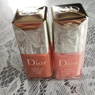 Dior   マニキュア  土、日限定 お値下げしました。