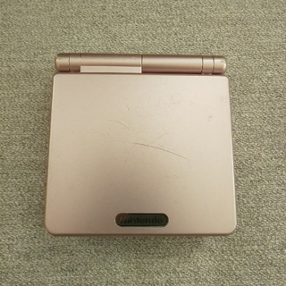 ゲームボーイアドバンス(ゲームボーイアドバンス)のゲームボーイアドバンスSP本体とオマケ(携帯用ゲーム機本体)