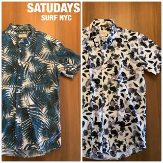 サタデーズサーフニューヨークシティー(SATURDAYS SURF NYC)のSATURDAYS SURF NYC 半袖シャツ 2枚セット(シャツ)