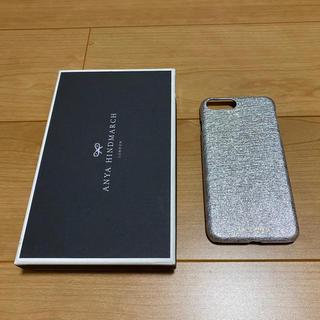 アニヤハインドマーチ(ANYA HINDMARCH)のアニヤハインドマーチ スマホケース iPhone7/8plus シルバー(その他)