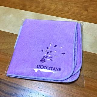 ロクシタン(L'OCCITANE)のロクシタン  非売品 ハンドタオル(ハンカチ/ポケットチーフ)
