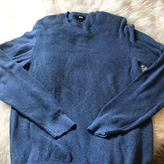 ユニクロ(UNIQLO)の長袖ニットセーター(ニット/セーター)