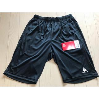 ルコックスポルティフ(le coq sportif)のルコック ハーフパンツ ブラック Mサイズ 新品(ショートパンツ)