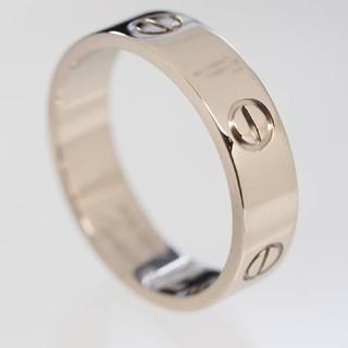 カルティエ(Cartier)の質流れ品mg!Cartier カルティエ ラブリング ホワイト750WG 66(リング(指輪))
