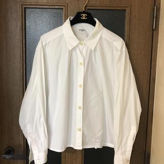 シャネル(CHANEL)のCHANELコットンシャツ(シャツ/ブラウス(長袖/七分))