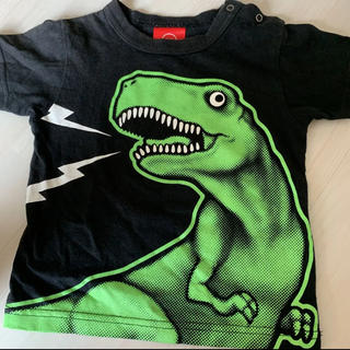 コドモビームス(こども ビームス)のojico 恐竜Tシャツ半袖 2Aサイズ(Tシャツ)